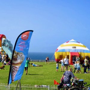 Summertime in Newquay at Body Bounce.