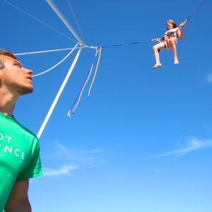 Body Bounce Bungy trampoline.
